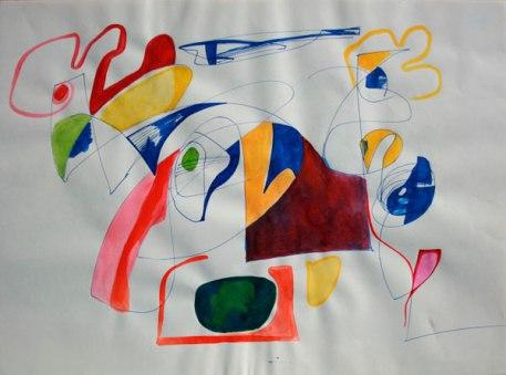 Técnica mixta / 29,5 cm x 42 cm