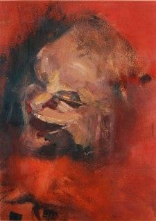 Fragmento. Oleo sobre lienzo.