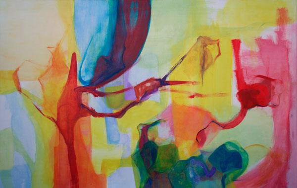 Acrílico sobre lienzo / 96 cm x 150 cm