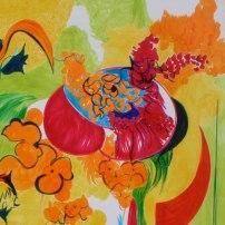 Fragmento - Entre Flores / Rotuladores Copic sobre papel